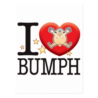 Bumph Love Man Postcard