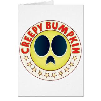 Bumpkin espeluznante tarjeta de felicitación