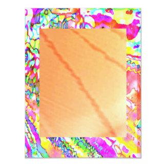 BUMPKIN GOLD SHINE MONSTERs 4.25x5.5 Paper Invitation Card