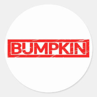 Bumpkin Stamp Classic Round Sticker