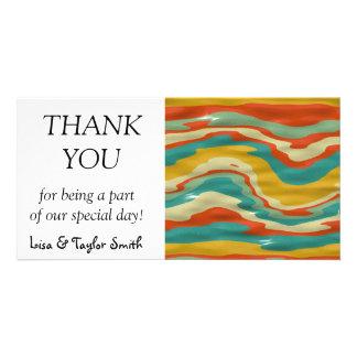 Bumps abstract design card