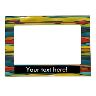 Bumps abstract design magnetic photo frame