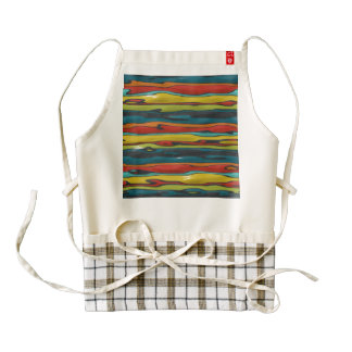 Bumps abstract design zazzle HEART apron