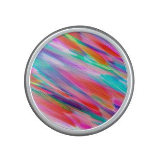 Bumpster Speaker Colorful digital art splashing