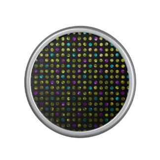 Bumpster Speaker Polka Dots Sparkley Jewels