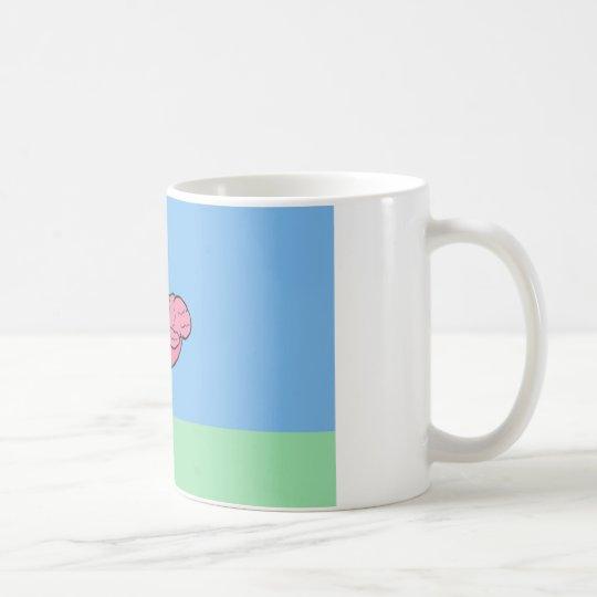 Bumpy Brains Flamingo Coffee Mug