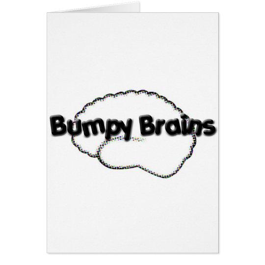 Bumpy Brains Logo Card