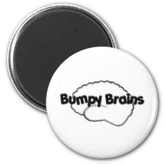 Bumpy Brains Logo Magnets
