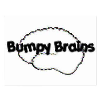 Bumpy Brains Logo Postcard
