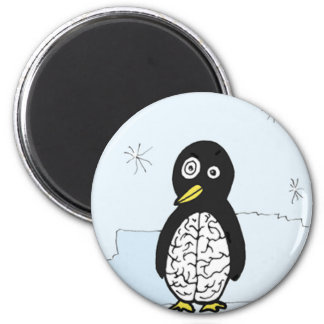 Bumpy Brains Penguin Magnet