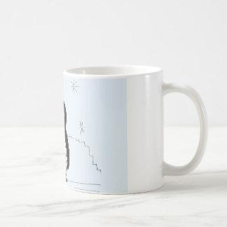 Bumpy Brains Penguin Classic White Coffee Mug