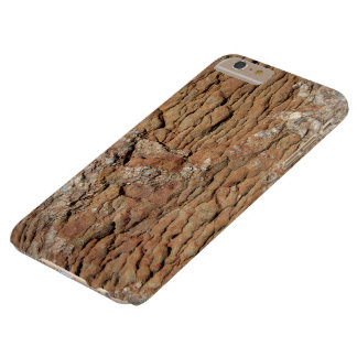 Bumpy Brown Rock Barely There iPhone 6 Plus Case