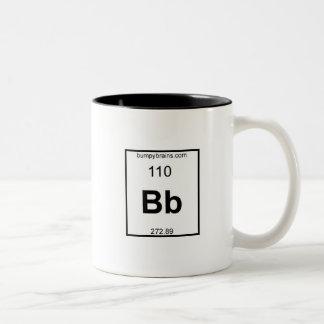 Bumpy Element Two-Tone Coffee Mug