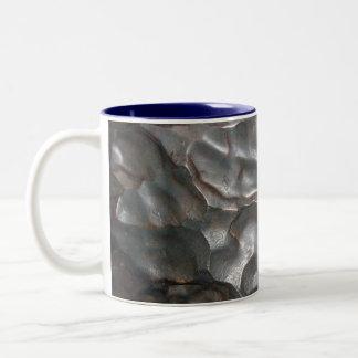 Bumpy_Look_Meteorite_Rock,_Blue_2_Tone_Coffee_Mug Two-Tone Coffee Mug