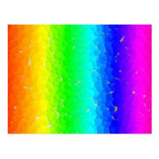 Bumpy Rainbow Postcard
