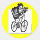 Bumpy Ride Classic Round Sticker