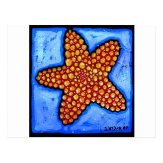 Bumpy Starfish Postcard