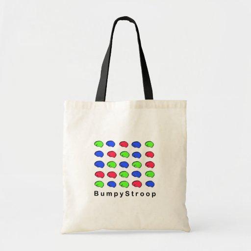 Bumpy Stroop Budget Tote Bag