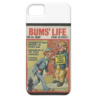 Bum's Lilfe wacky package iPhone 5 Cases