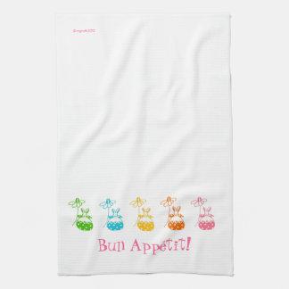 Bun Appétit bunny towel