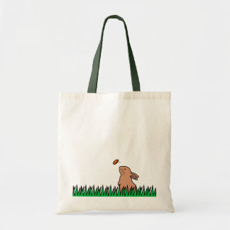 BUN & BUTTERFLY BUDGET TOTE BAG