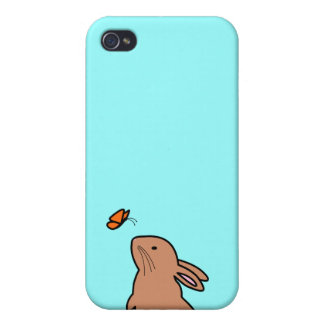 BUN & BUTTERFLY iPhone 4 COVER