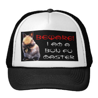 Bun Fu Master hat