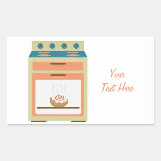 Bun In Oven (customizable) Rectangular Sticker
