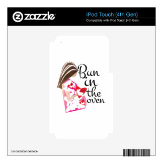 Bun In Oven Decal For iPod Touch 4G