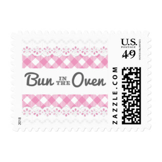 Bun In The Oven Baby Shower Postage