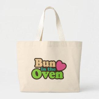 Bun In The Oven Tote Bags