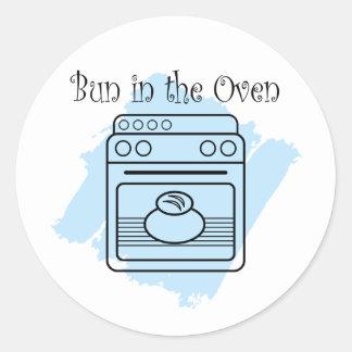 Bun in the Oven Classic Round Sticker