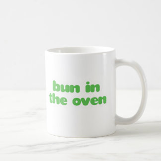 Bun In the Oven - green Classic White Coffee Mug