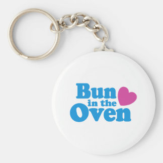 Bun In The Oven Keychain