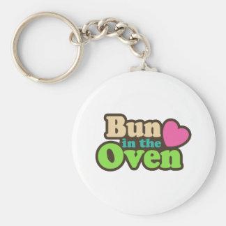 Bun In The Oven Keychain