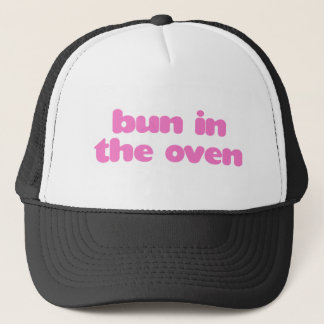 Bun In the Oven - Pink Trucker Hat