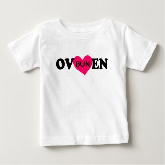 BUN IN THE OVEN.png Baby T-Shirt
