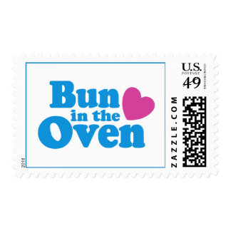 Bun In The Oven Postage