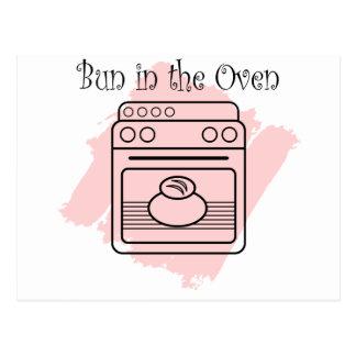 Bun in the Oven Postcard