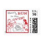 bun in the oven stamp