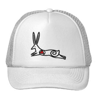 BUN MESH HATS