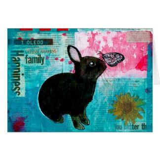 BUN N BUTTERFLY CARD