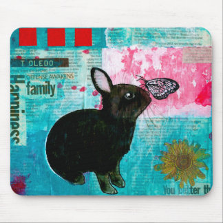 BUN N BUTTERFLY MOUSE PAD