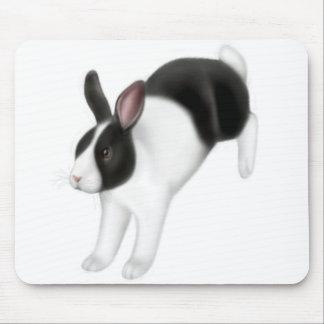 Bun on the Run Rabbit Mousepad