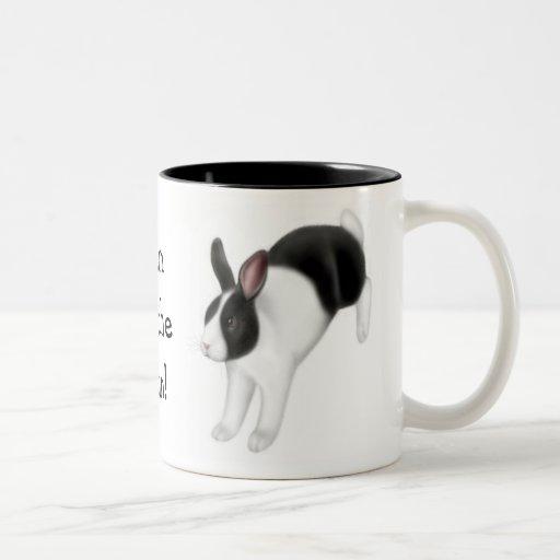Bun on the Run Rabbit Mug