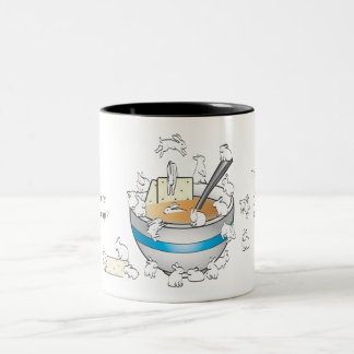 BUN SOUP Two-Tone COFFEE MUG