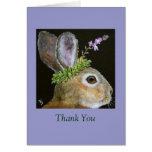 bun, Thank You note card