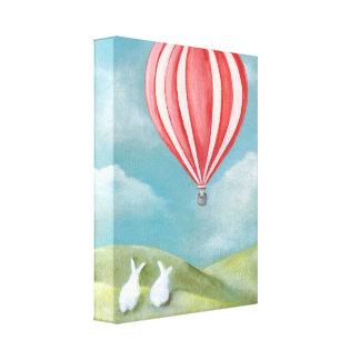 Bun Voyage Wrapped Canvas