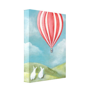 Bun Voyage Wrapped Canvas Gallery Wrapped Canvas