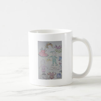 BunBun and Olga Paperdolls Mugs